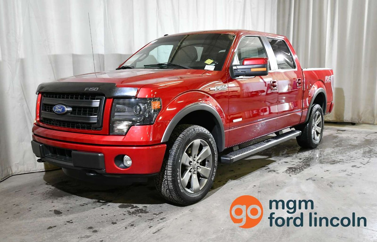hight resolution of finally enjoy your drive to work in this loaded mint condition 2014 ford f 150 fx4 with heated cooled front seats leather navigation backup camera