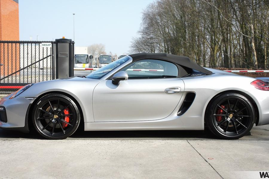 Porsche Boxster 981 Spyder For Show By Wim