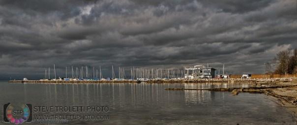 Port de Cheyres sur le Lac de Neuchâtel
