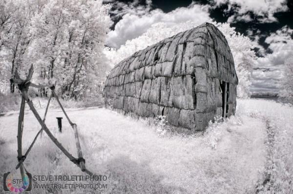 Steve Troletti Photography: INFRARED - INFRAROUGE &emdash; Site archéologique Boucher-de-Grosbois - IR