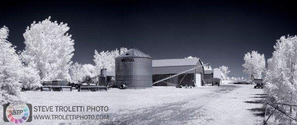 Steve Troletti Photography: INFRARED - INFRAROUGE &emdash; Ferme - IR - Farm