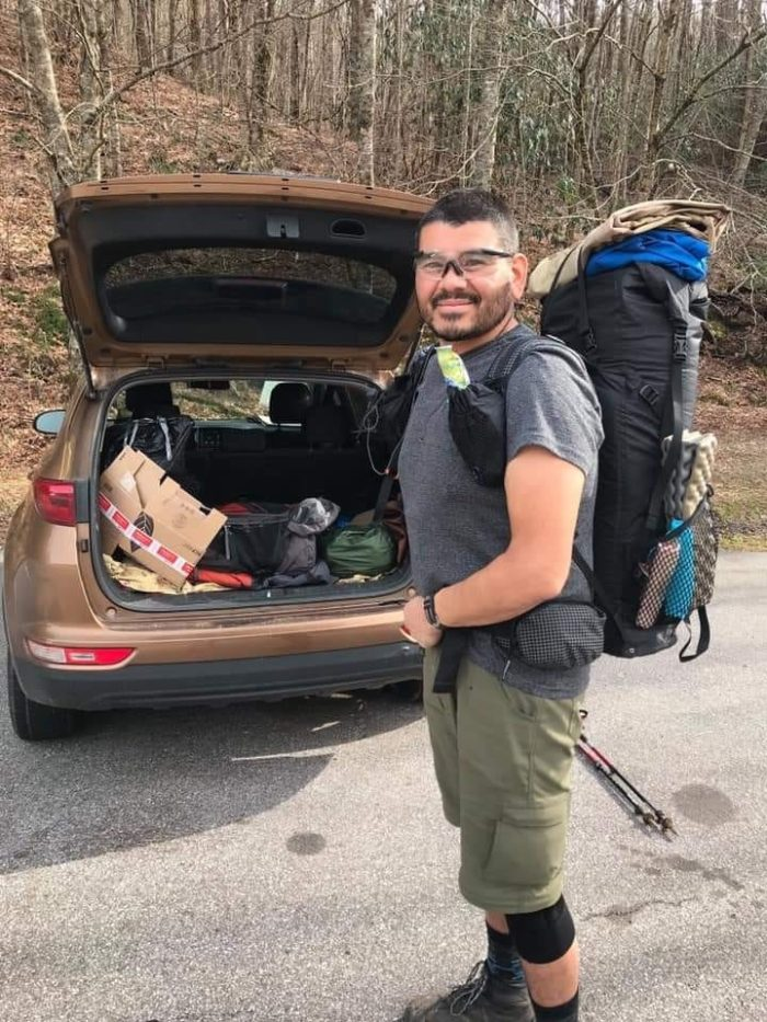 ronald sanchez, jr. appalachian trail