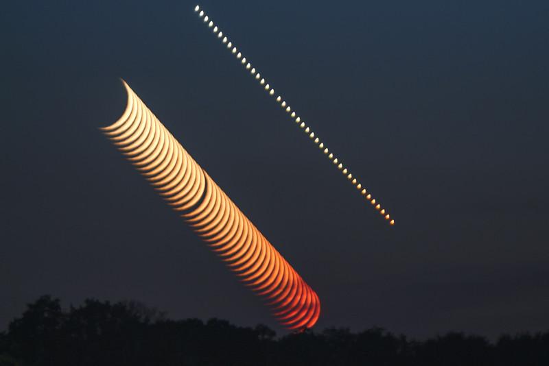 lunar; moon; stack