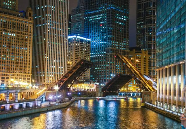 Chicago; bridge
