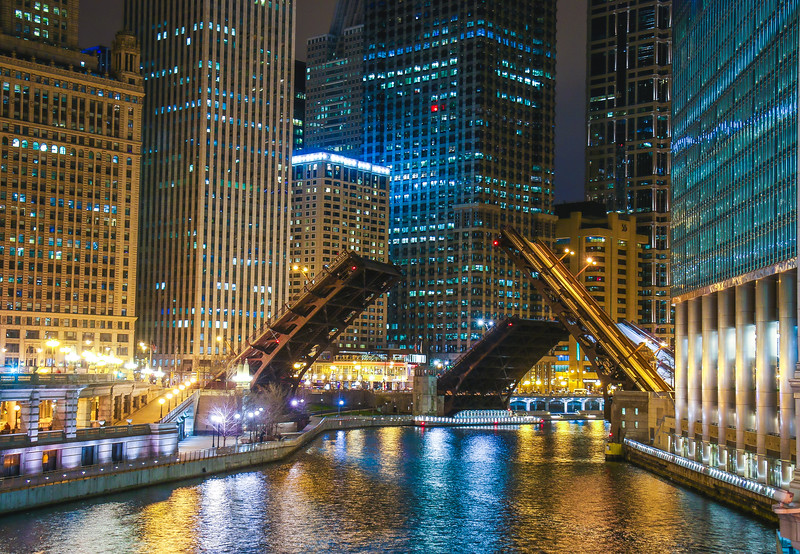 Chicago; bridge
