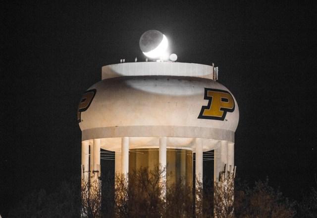 Purdue; University; Water; tower