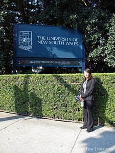 Rae at the University of New South Wales