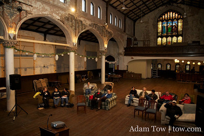 Screening at St. John's Church in Baltimore