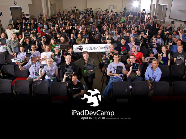 iPadDevCamp Group Photo