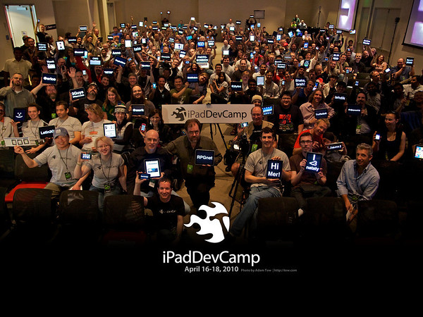 iPadDevCamp Illumination Group Photo