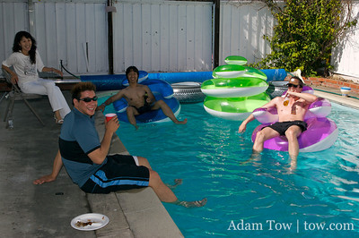 BBQ Potluck and Pool Party