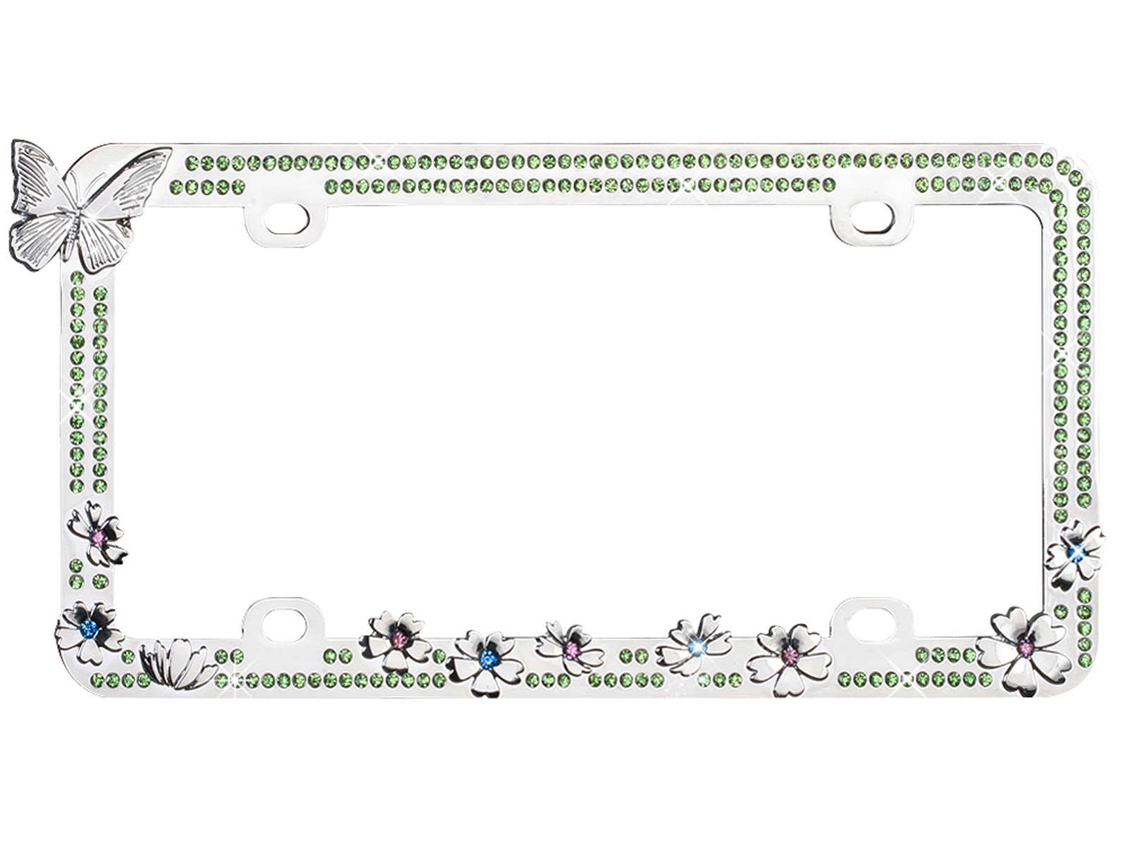 Fantastic Sparkle License Plate Frame Gallery - Picture Frame Ideas ...