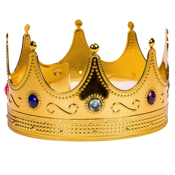 Regal Gold King Crown - Royalty Halloween Costume