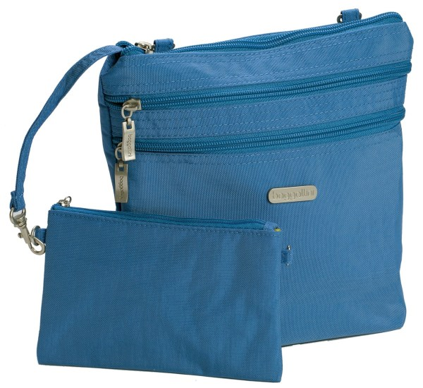 Baggallini Crossbody Travel Bag Zipper