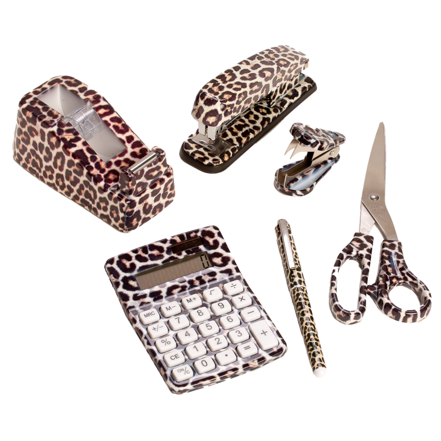 Leopard Print Office Supplies