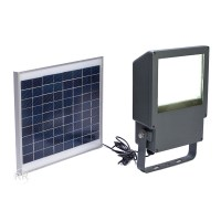 108 LED Outdoor Solar Powered Wall Mount Flood Security ...