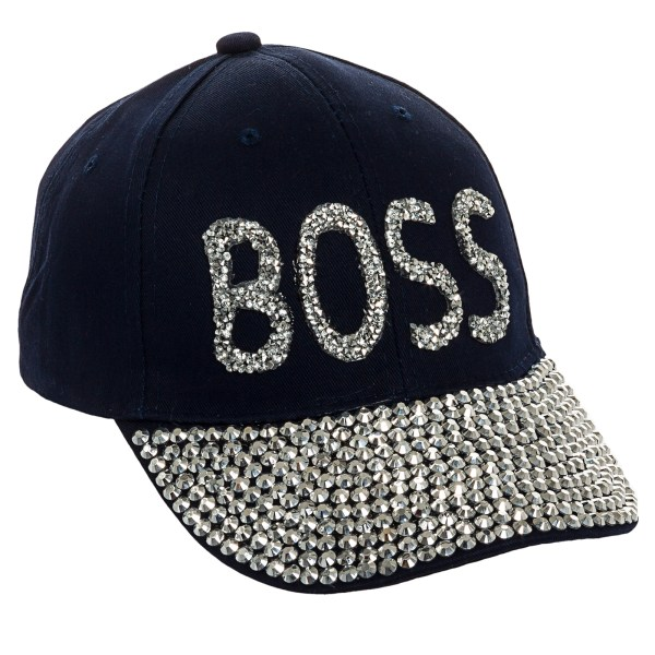 "Crystal Case Women' Bling ""boss"" Embellished Adjustable"