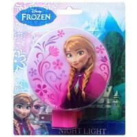 DISNEY NEW Frozen Girls Cute Princess Night Light Lamp (2 ...