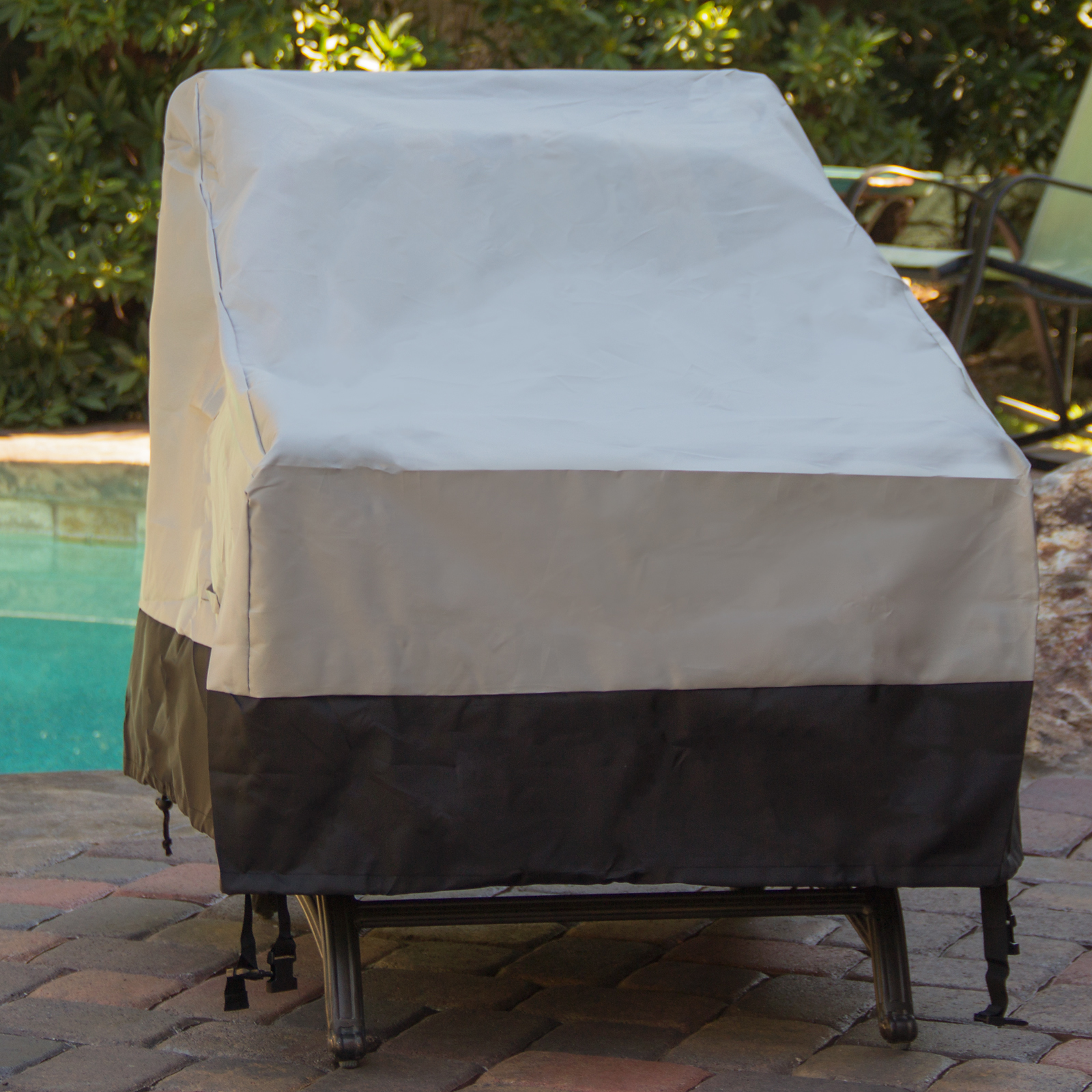 Patio Chair Covers 2 Pack Deep Seat Chair Outdoor Furniture Patio Cover Ebay