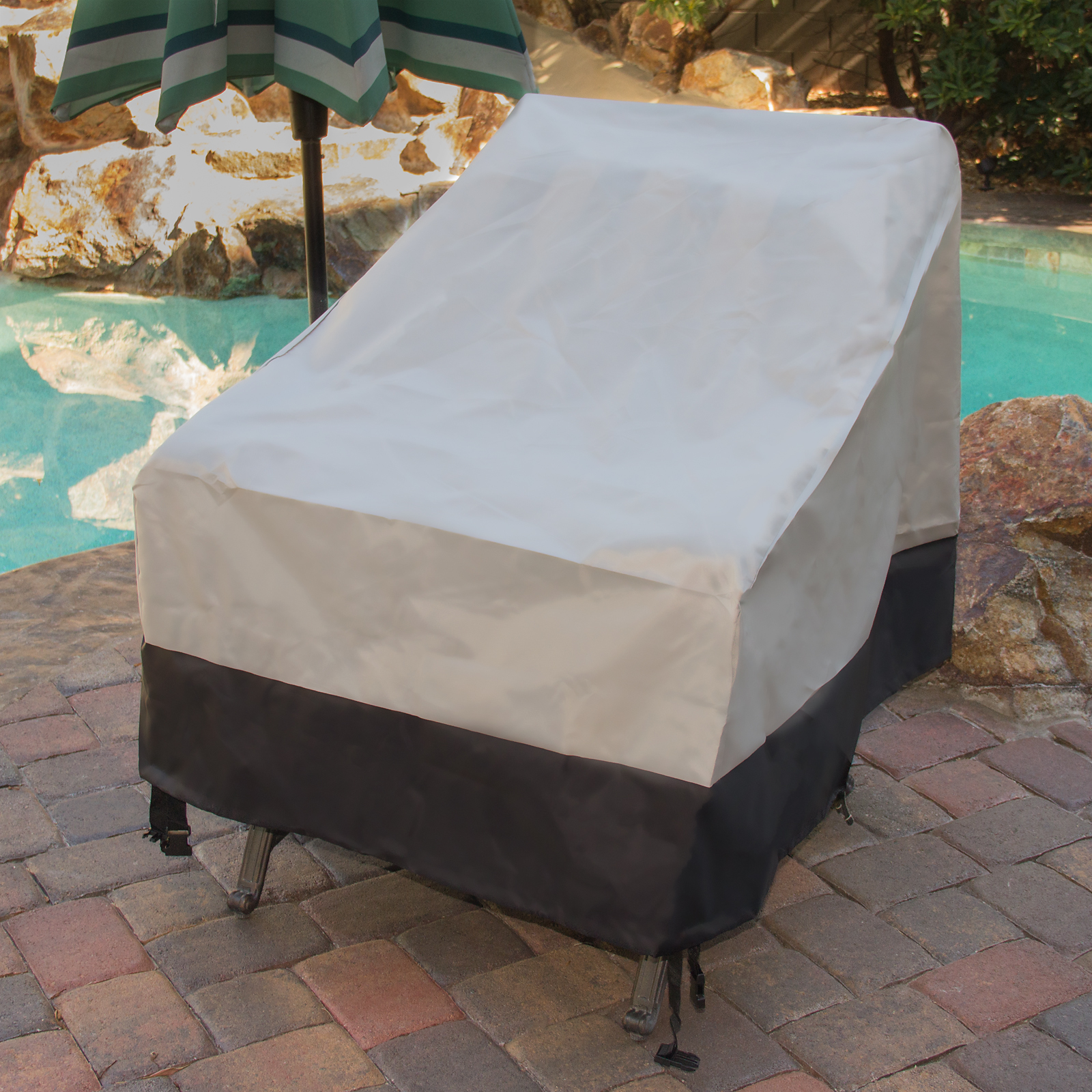 garden chair covers wilko rustic desk no wheels 2 pack deep seat outdoor furniture patio cover ebay