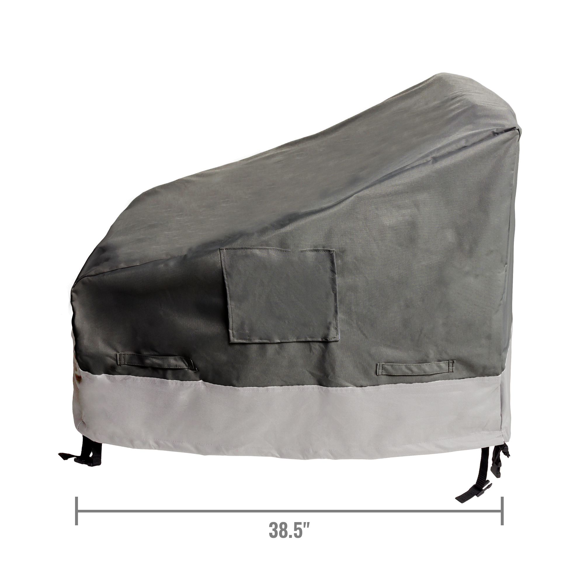 garden recliner chair covers fishing bed dimensions 2 pack deep seat outdoor furniture patio cover ebay