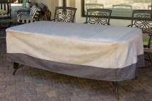 Dining Table Weatherproof Outdoor Furniture Patio Cover