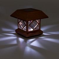 GreenLighting Outdoor Summit Solar Post Cap Light for 4x4 ...