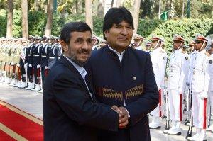 Bolivian President Juan Evo Morales Visits Iran