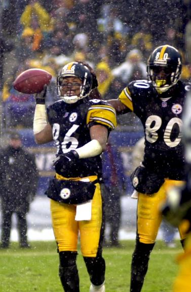 Hines Ward and Plaxico Burress