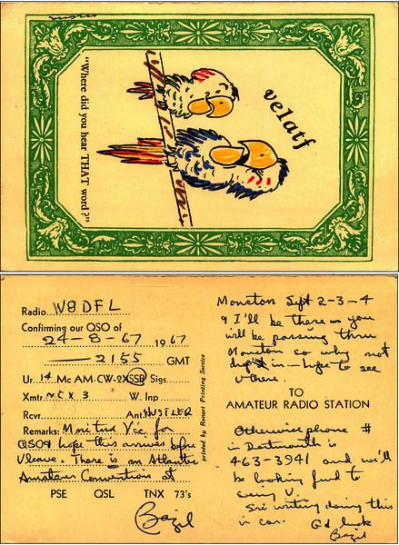 VE1ATF QSL Card