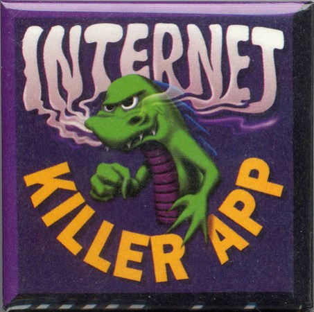 Mozilla Internet Killer App button