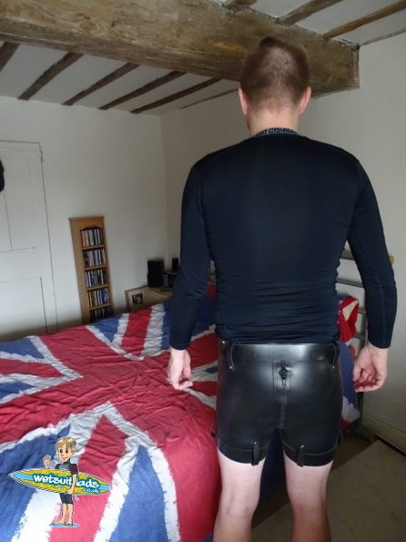 Latex Max Secure Shorts