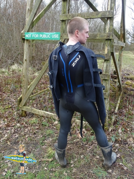 2XU A:1 Active wetsuit + straitjacket