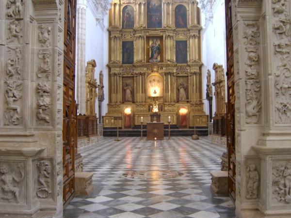 Image result for retablo de la cartuja de jerez