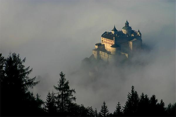 Schloss Castle Eagles Where Dare Hohenwerfen