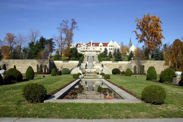 ImmergrnMount Assisi Monastery Sunken Gardens