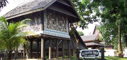 Anjungan Provinsi Kalimantan Timur TMII  DKI Jakarta