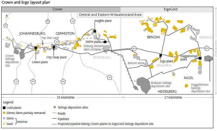 Ergo Gold Project (Brakpan Tailings)