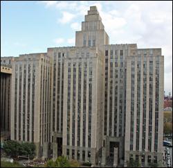 Criminal Courts Building New York City New York