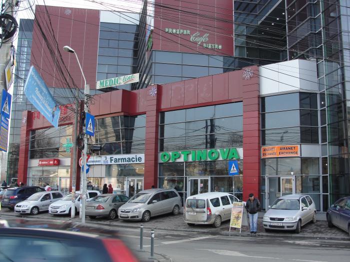 Complex comercial Prosper Center  Bucharest
