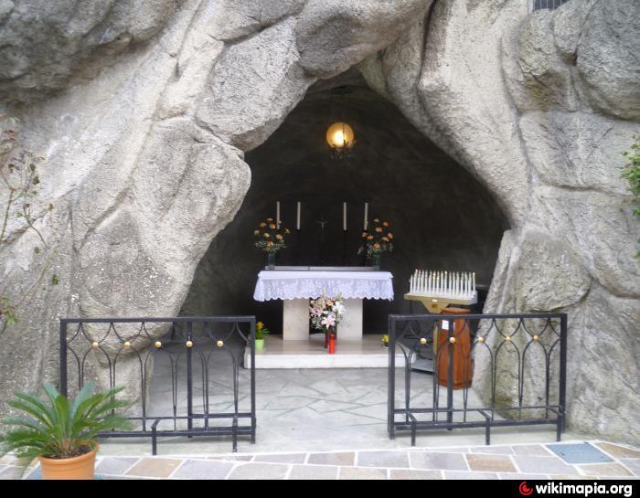 santuario della grotta della Madonna di Lourdes a Miramare di Rimini  Rimini