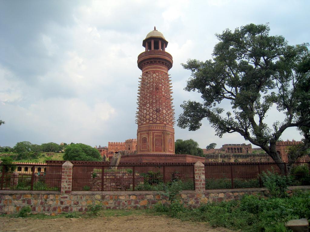 Image result for hiran minar fatehpur sikri