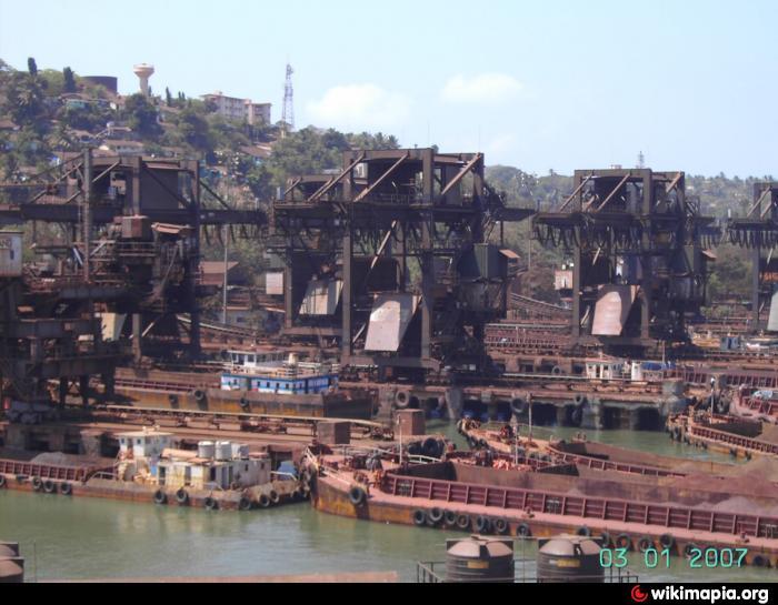 Ore Handling Facility Mormugao Port  Vasco da Gama