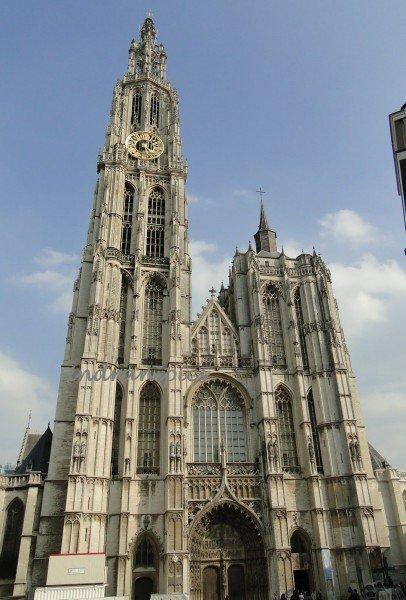 Afbeeldingsresultaat voor Antwerp cathedral