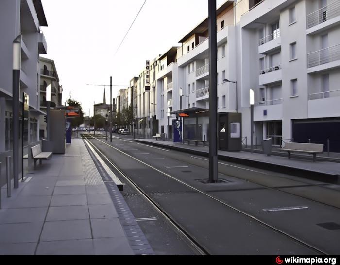 Arrt de Tram C  Tauzia  Bordeaux