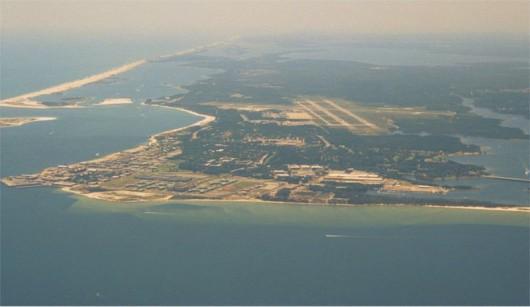 Naval Air Station Pensacola Florida Map