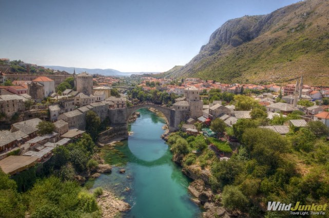 travel without quitting your job - Mostar, Bosnia
