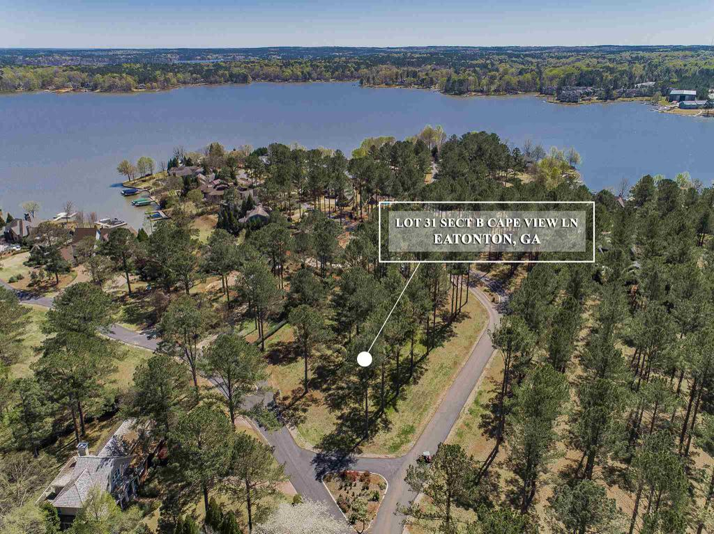 Property for sale at Lot 31 ISLAND VIEW LANE, Eatonton,  Georgia 31024