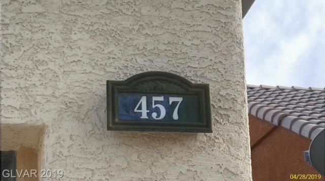 Property for sale at 457 Via Stretto Avenue, Henderson,  Nevada 89011