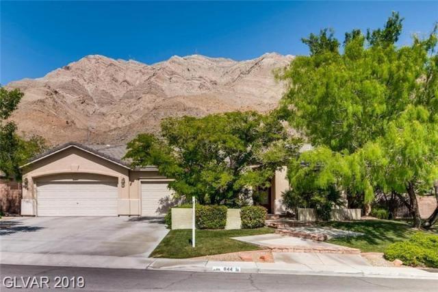 Property for sale at 844 Market Crest Drive, Las Vegas,  Nevada 89110